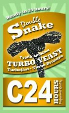C24 Double Snake Turbo Yeast Extreme 14% IN 24-hour ALSO SALE SALE Turbo 24 klar