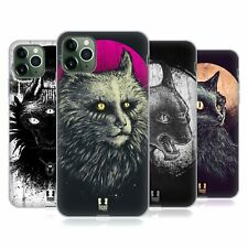 HEAD CASE DESIGNS CATS OF GOTH SOFT GEL CASE FOR APPLE iPHONE PHONES