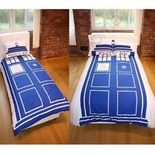 Dr Who Tardis Housse de couette ensembles - Disponible en simple & Double