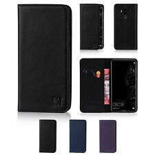 32nd Classic Series - Real Leather Book Wallet Case Cover For Huawei Mate 10 Pro