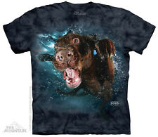 (4999) The Mountain T-Shirt Shirt UNDERWATER DOG HODGE by Seth Casteel