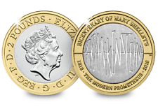 2018 Royal Mint - Mary Shelley - Frankenstein £2/Two Pound Coin - BU -
