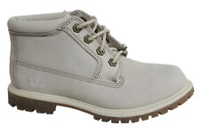 Timberland Af Nellie Chukka con lacci bianco sporco donna stivali in pelle 23671