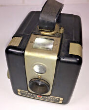 Kodak Brownie Hawkeye Flash for 620 roll film, US-made from 1950s, with case