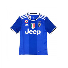 Adidas Away Replica Player Juventus FC 2016/2017 T-Shirt Bambini AI6228 Vivblu/V
