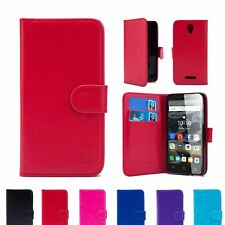 32nd Book Series – Synthetic PU Leather Flip Wallet Case Cover For Alcatel Pop 4