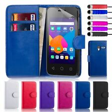 """32nd Book Series – Synthetic Leather Flip Wallet Case - Alcatel Pixi 4 5.0"""" (3G)"""