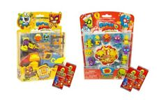 SUPERZINGS BLISTER PACK ~ RIVALS OF KABOOM SUPERZING SERIES 1 ~ PLUS 2 GoGo CARD