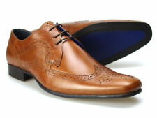 Red Tape Louth fauve pour hommes Chaussures richelieu cuir 6-12 UK