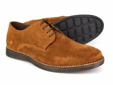 Red Tape Medwin marroncino camoscio Uomo Scarpe Gibson UK 7-12
