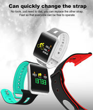 Fitness Tracker Blood Pressure Heart Rate Monitor Activity Tracker SmartWatch