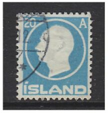 Iceland - 1912, 20a King Frederick VIII stamp - Used - SG 104