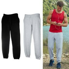 Set 2 FRUIT OF THE LOOM uomo pantaloni tuta sport fitness Pantaloni