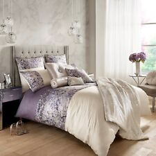 Kylie Minogue Bedding MARISA Mauve / Oyster Duvet / Quilt Cover Full Bedding Set