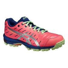 ASICS gel-hockey NEOPRENE 3 Donna Hockey SCARPE FLASH Corallo/Argento/