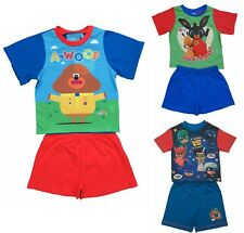Kids Boys Girls Bing, PJ Masks and Hey Duggee Pyjamas Pjs Ages 18 Mths to 5 Yrs