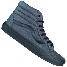 d3999332903dab Vans Sk8 Hi Old Skool Skate Lifestyle Classic Sneaker Men s Shoes Grey Black