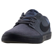 Mens Nike SB Portmore Ii Solar Suede & Synthetic Dark Grey Shoes Trainers