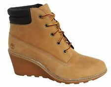 Timberland Earthkeepers EK Amston 6 Inch Womens Wedge Boots Wheat 8251A D112