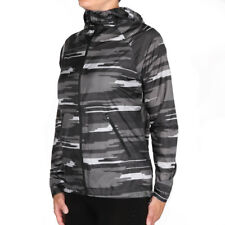 Asics fuzeX Packable Jacket Impulse Dark Grey Damen Laufjacke Windjacke Grau