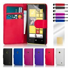 32nd Book Series – Synthetic PU Leather Flip Wallet Case Cover - Nokia Lumia 520