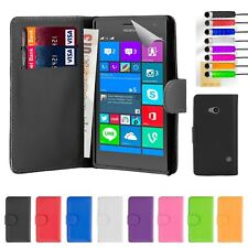 32nd Book Series – Synthetic PU Leather Flip Wallet Case Cover - Nokia Lumia 730