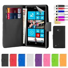 32nd Book Series – Synthetic PU Leather Flip Wallet Case Cover - Nokia Lumia 720