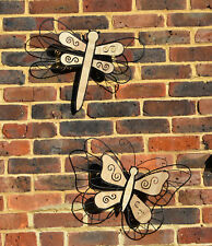 Giant Metal Dragonfly / Butterfly Home Garden Wall Fence Decoration Art Ornament