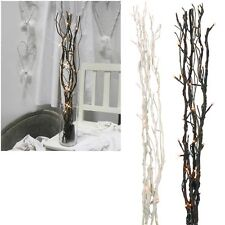 Willow´S Twigs Led Lighted Battery Mode Timer / Leuchtzweige Decode - Lamp