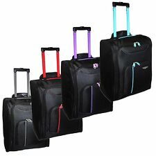 valise voyage roulettes 50x40x20 ryanair trolley cabine bagages a main hearts ebay. Black Bedroom Furniture Sets. Home Design Ideas