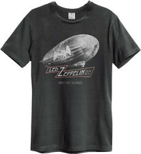 Amplified Unisex T-Shirt Led Zeppelin Metal Rock Shirt