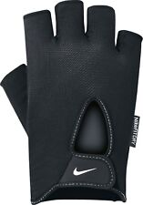 NIKE uomo Fitness Guanto Mens Fundamental Training Guanti Nero/Bianco