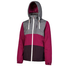 Protest CLEAR Ground redski/Snowboard Chaqueta de esquí Rojo De Damas Gris