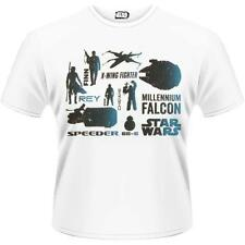 Star Wars - Bleu Heroes T-shirt manches courtes - NEUF & OFFICIEL Lucasfilm Ltd