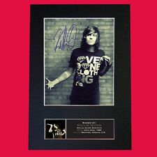 KELLIN QUINN Quality Autograph Mounted Signed Photo Reproduction Print A4 706