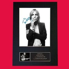 TOM PETTY Quality Autograph Mounted Signed Photo Reproduction Print A4 710
