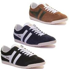 Gola Classics Gola Bullet Mens Suede Leather Trainers