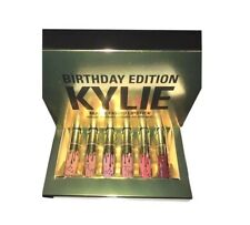 6 PCS SET Brand New Kylie Jenner Lip Kit Liquid Lipstick Matte Birthday Edition