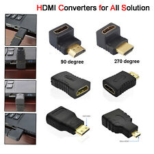 Mini Micro HDMI Adapter Converter Connector Extender Male to Female 3D 1080p HD