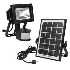 10w HIGHPOWER Solar LED Proyectores Captador de movimiento y pila /