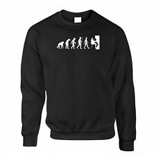 Evolution Of Climbing Mountains Wall Outdoors Funny Novelty Jumper Sweater