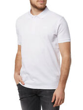 NEUF HUGO BOSS POLO à manches courtes homme 50378604 Donos blanc homme