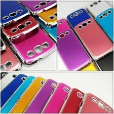 Metal Color Hard Phone Case for Samsung Galaxy S3 SIII i9300 Gold Silver Purple