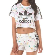 ADIDAS Originali x PHARRELL WILLIAMS DONNA TRIFOGLIO SURF T SHIRT &