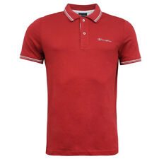 Champion Short Sleeve Mens Red Cotton Polyester Polo T-Shirt 211545 3552 Kit