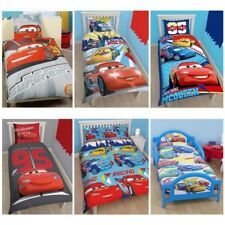 Disney Cars Lightning McQueen ropa de cama individual, Doble & JUNIOR FUNDAS