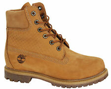 Timberland AF Icon 6 Inch Premium Womens Boots Lace Up Wheat A13YK T6