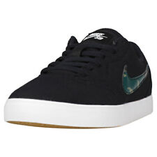 Kids Nike SB Check Canvas Black Camouflage Branded Footwear Shoes Trainers