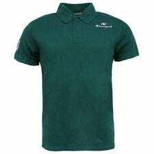 CHAMPION COTONE VERDE UOMO 2 BOTTONI UP CON COLLETTO POLO 207907 2756 P5