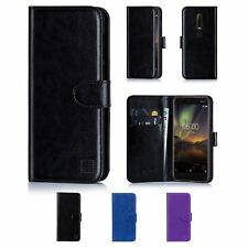 32nd Book Series – Synthetic Leather Flip Wallet Case Cover For Nokia 6.1 (2018)